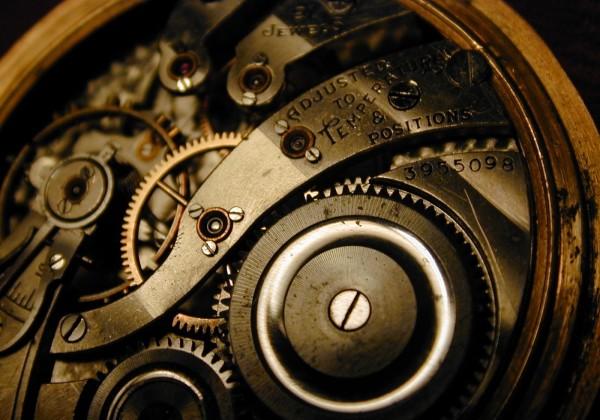 Pocketwatch gears